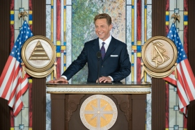 Underscoring the role served by the new National Affairs Office in the Church's greater social and humanitarian mission, Mr. David Miscavige, Chairman of the Board Religious Technology Center and ecclesiastical leader of the Scientology religion, dedicated the new facility.
