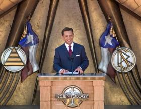 David Miscavige, a Szcientológia vallás egyházi vezetője beszélt a Dallasi Szcientológia Egyház megnyitóünnepségén, ahol elmondta, hogy Texas álmai a szellemi szabadságról be fognak teljesülni.